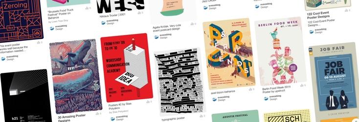 Artikelbild für: 10 Inspirationen für außergewöhnliche Event Poster – Veranstaltungsmarketing braucht gutes Design