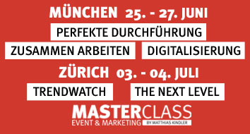Masterclass Event & Marketing Seminare