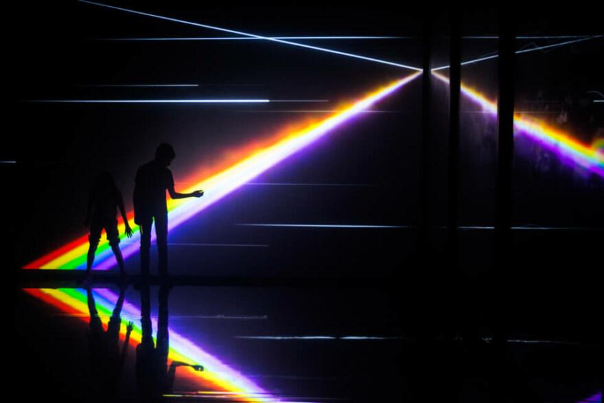 Artikelbild für: Kontinuum: Multimedia-Installation in einer U-Bahn Station