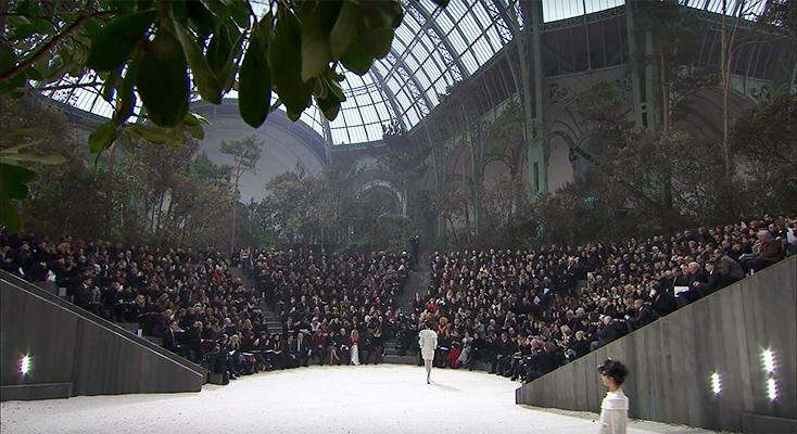 Artikelbild für: Die legendären Chanel Fashionshows im Grand Palais – seit 2005