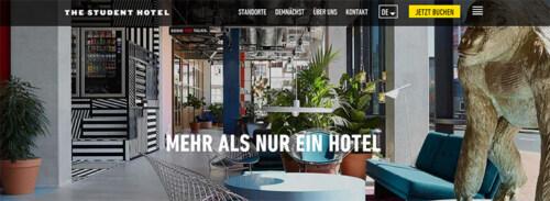 Artikelbild für: Hotel & Location Tipp: The Student Hotel