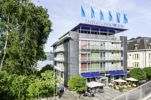 Artikelbild für: Tagungshotel am Zürichsee: 4 Sterne Hotel Sedartis mit Panoramausblick