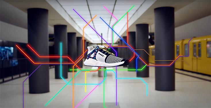 Artikelbild für: Promotionaktion für öffentliche Verkehrsmittel – Sneaker mit BVG Jahresticket