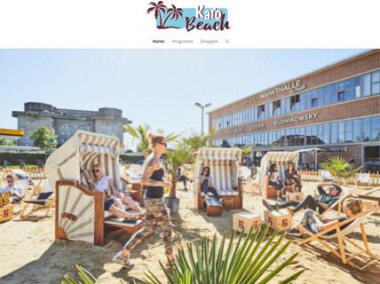 """Artikelbild für: Strand-Location in Hamburg: Karo Beach Club mit """"Zero Waste""""-Mission"""