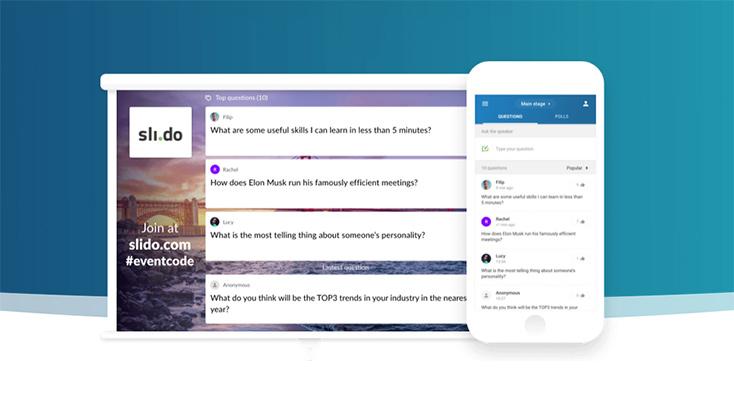 Artikelbild für: Event-Tool: Publikumsfragen und -feedback sammeln