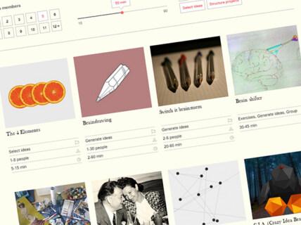 Artikelbild für: Link-Tipp: Kreativmethoden Generator