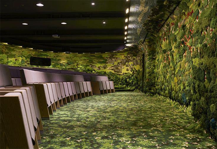 Artikelbild für: Raumdesign: Ein Hörsaal als akustische Intervention