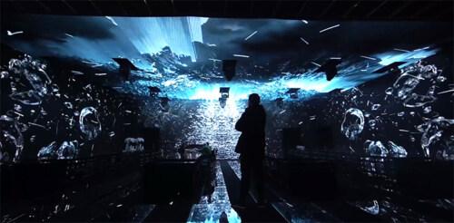 """Artikelbild für: LED Raum- & Lichtinstallation für die Ausstellung """"Resonances of Cartier"""""""