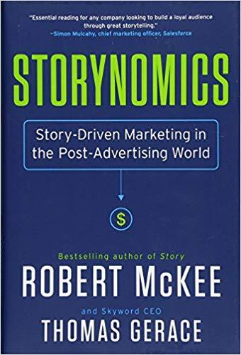 Buchcover von Storynomics