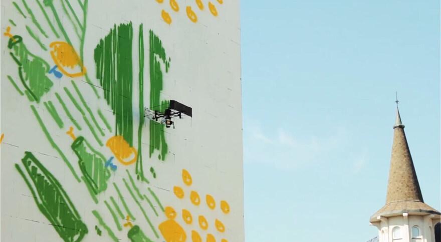 """Artikelbild für: Promotion: """"Drone Painter"""""""