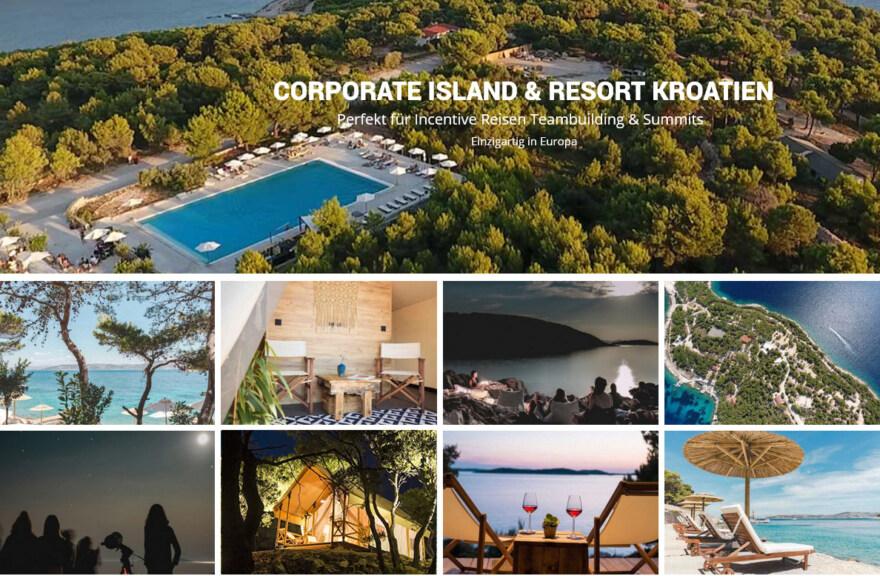 Artikelbild für: Eine ganze Insel als Eventlocation: Corporate Island Resort in Kroatien