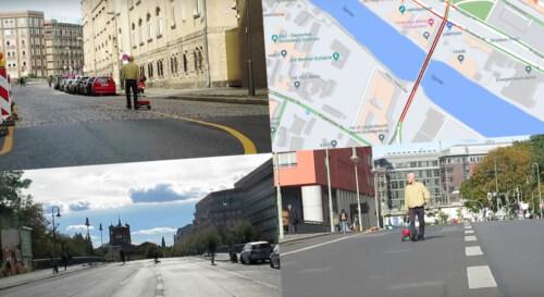 Artikelbild für: Google Maps Hack & Performance von Simon Weckert