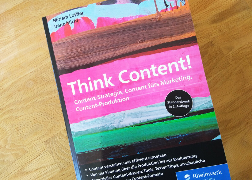 """Artikelbild für: Guter Online-Content: 8 häufige Fehler – aus dem Buch """"Think Content!"""""""