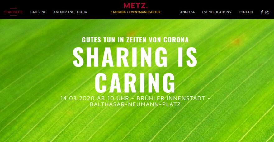 Artikelbild für: Coronavirus: Caterer verschenkt Essen und sammelt Spenden für einen guten Zweck