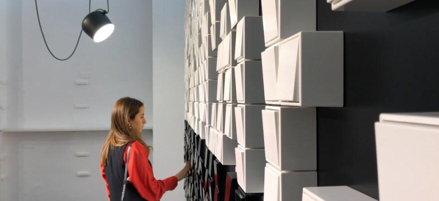 Artikelbild für: Chromatic – Pop-Up Installation: JUNG auf der Milan Design Week 2019