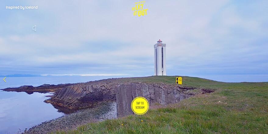 Artikelbild für: Destinations-Marketing: Schreie deine Corona-Wut heraus #LetItOutIceland