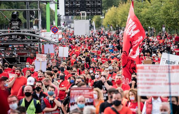 Artikelbild für: Zweite Demonstration der Veranstaltungsbranche – am 28. Oktober 2020 in Berlin