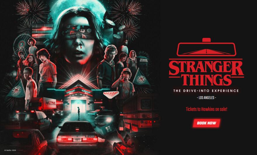 Artikelbild für: Drive-Into Experience: Netflix Serie als Live-Erlebnis