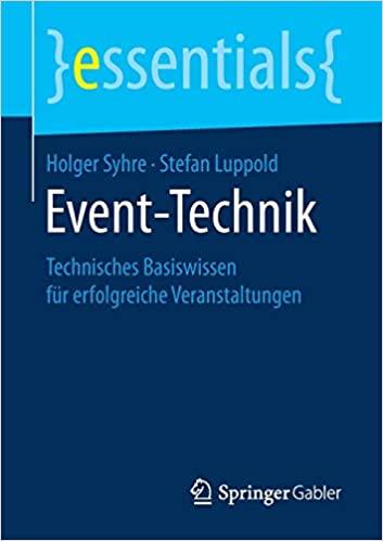 Buchcover von Event-Technik