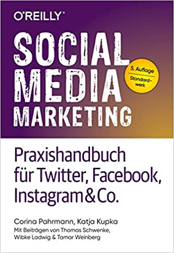 Buchcover von Social Media Marketing