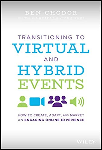 Buchcover von Transitioning to Virtual and Hybrid Events