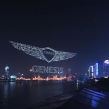 Artikelbild für: Drohnen-Flugshows mit immer neuen Rekorden – Markenerlebnisse am Nachthimmel