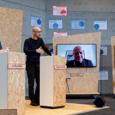 """Fotos vom Hybriden Event """"Global Green Deals Forum"""""""